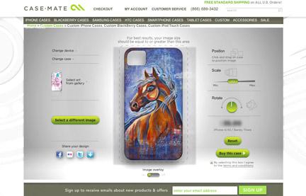 Horse screen shot