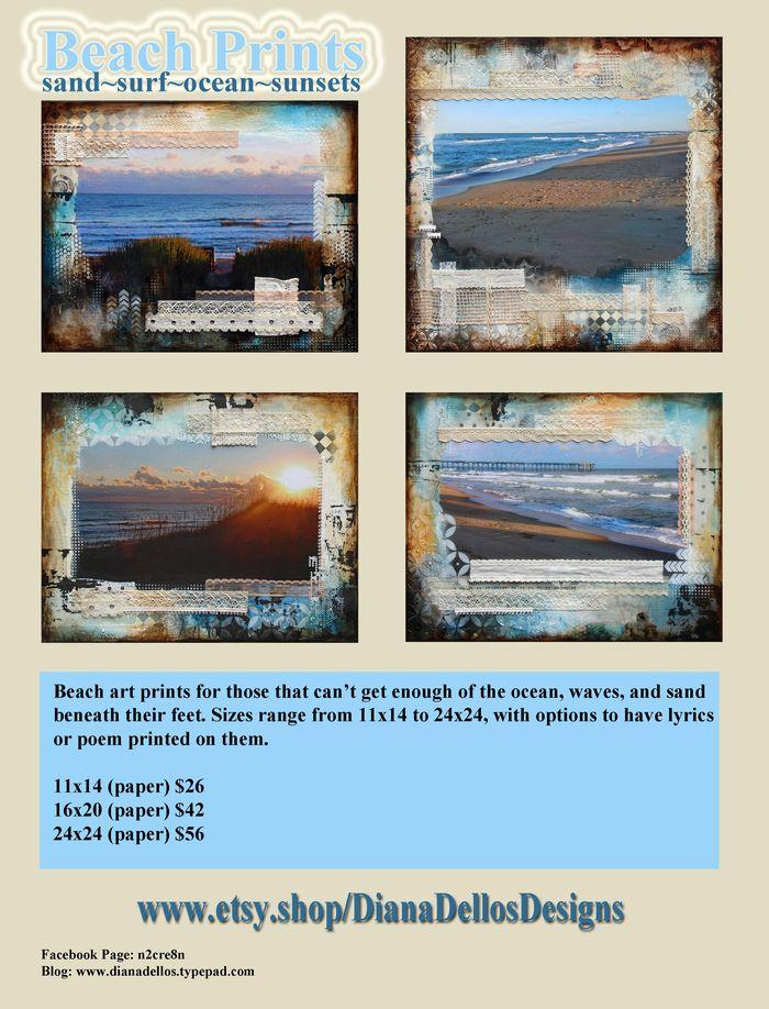 Flyer, Beach Prints