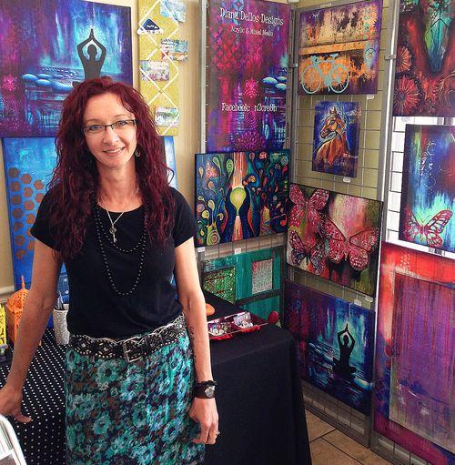 DianaDellosDesigns, artshow