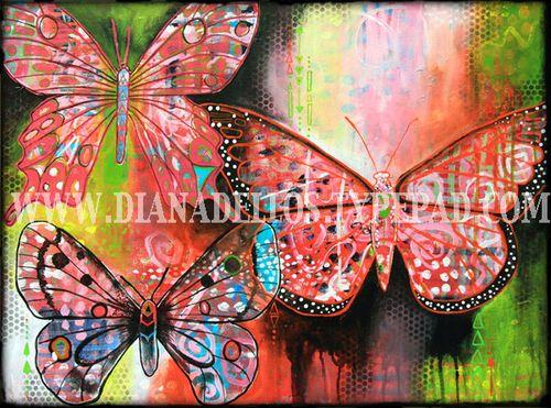 DianaDellos, Butterflies